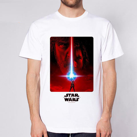 The Last Jedi Star Wars Episode VIII Mens T-shirt