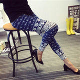 Night Out Flowers Leggings for Women