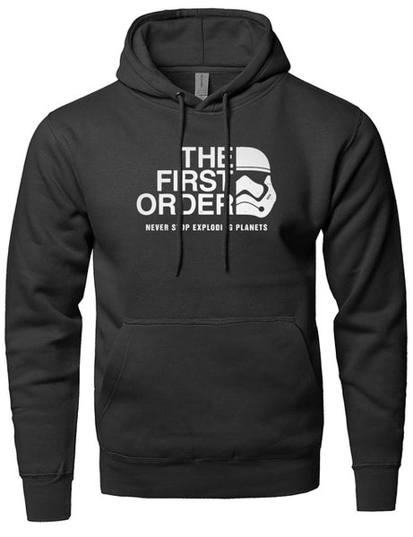 The First Order Star Wars Inspired Mens Hoodie