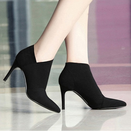 Trending Winter Chelsea High Heels Booties
