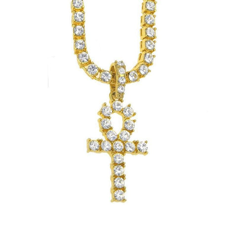 Egyptian Ankh Key To Life Necklace