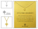 "Make A Wish Necklace: ""Its the Journey"" (NEW)"