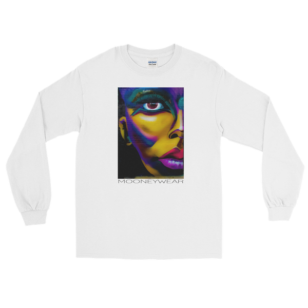"""My Good Side""  Orig. Street Art Brooklyn N.Y. Long Sleeve T-Shirt ~ Tap & Scroll for Colors"