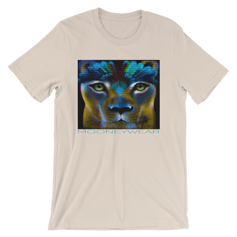 """Lioness""  Orig. Street Art Queens N.Y. T-Shirt~Tap & Scroll for Colors"