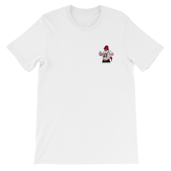 """Santa"" Orig. Street Arty Manhattan N.Y. T-Shirt ~ Tap & Scroll for Colors"
