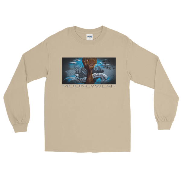 """Ball Of Life"" Orig. Street Art Brooklyn N.Y. Long Sleeve T-Shirt~tap & scroll for colors"