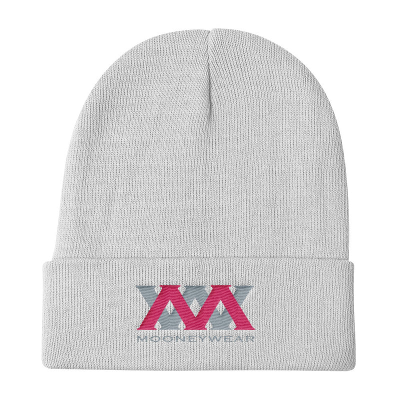 Grey & Pink Logo Knit Beanie~tap & scroll for colors