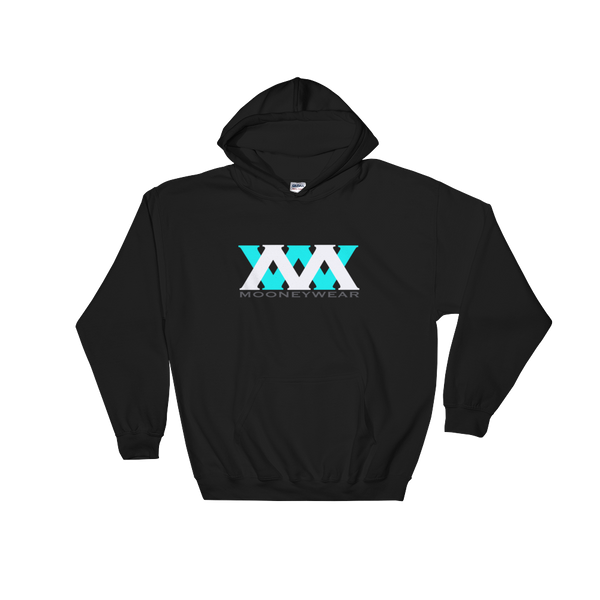 Aqua & White Logo Hoodie ~ Tap & Scroll for Colors