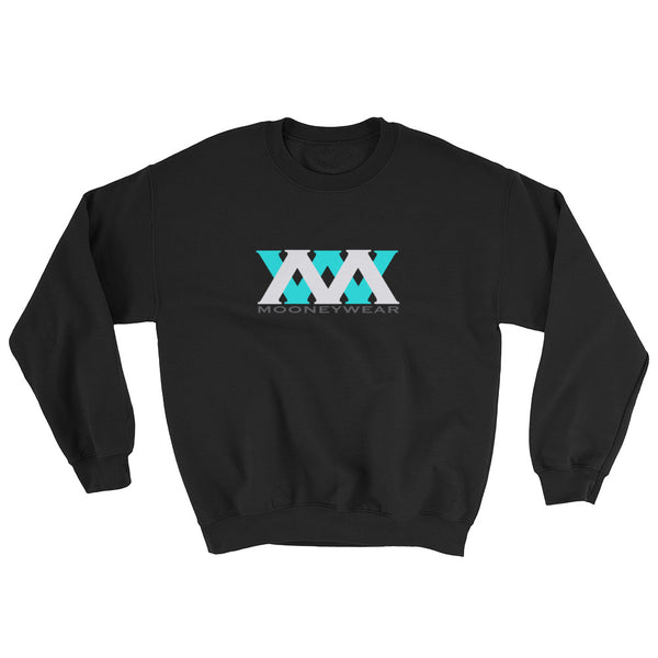Aqua & White Logo Sweatshirt ~Tap & Scroll for Colors