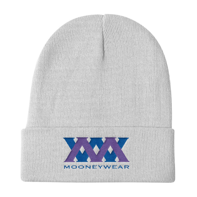 Blue & Purple Logo Knit Beanie ~ Tap & Scroll for Colors
