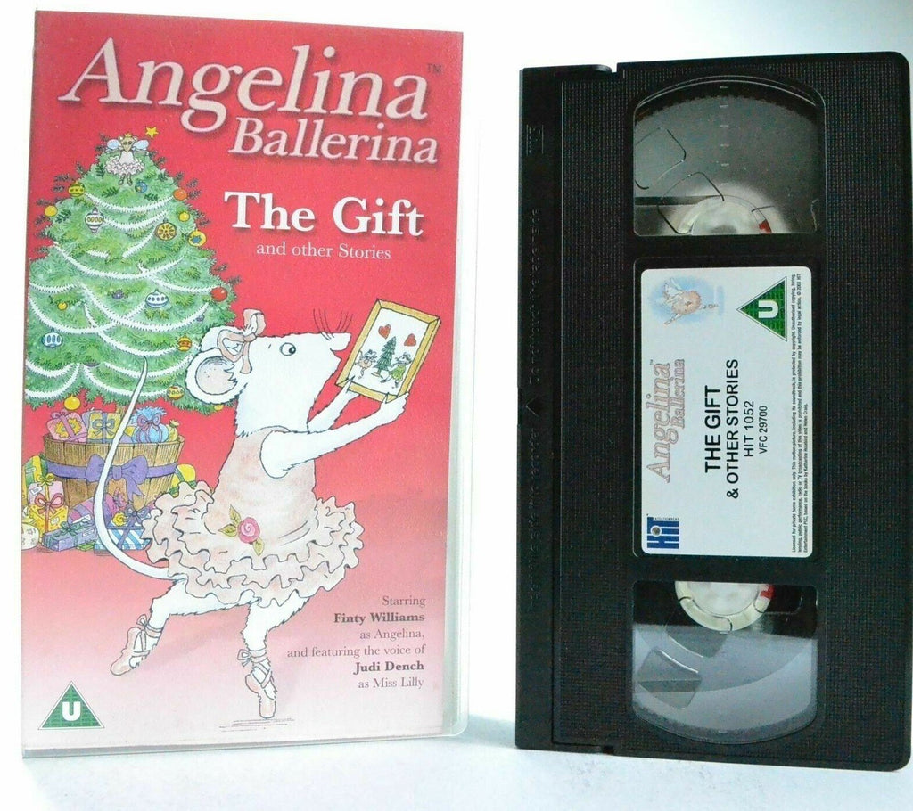 Angelina Ballerina: The Gift - Classic Animation - F.Williams/J.Dench - VHS
