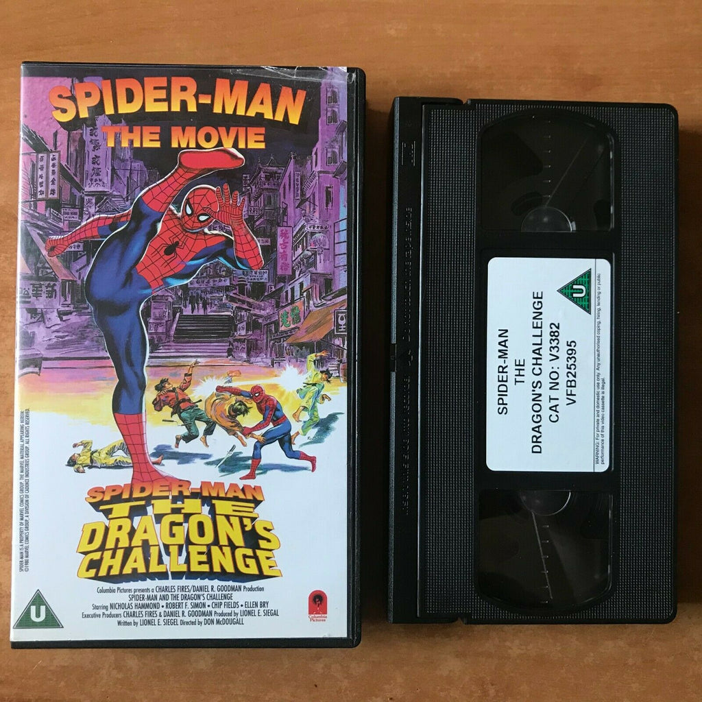 Spider-Man: The Dragon's Challenge; (1979) Made For TV - Superhero Action - VHS
