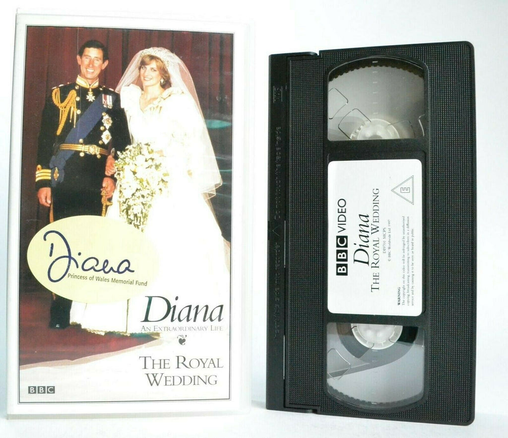 Diana: An Extraordinary Life - Documentary - Lady Diana - Royal Wedding - VHS
