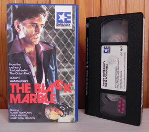 The Black Marble - Robert Foxworth - AVC Embassy - Action Drama - Pre Cert VHS