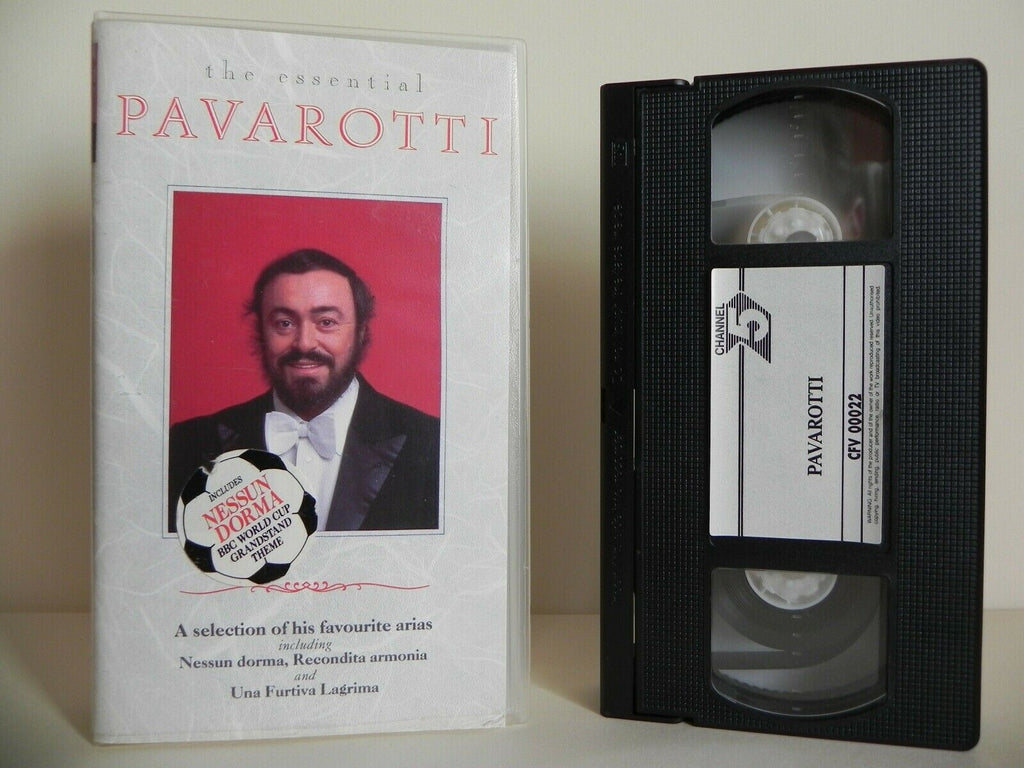 Pavarotti: The Essential - Royal Gala Concert - Royal Albert Hall - Pal VHS