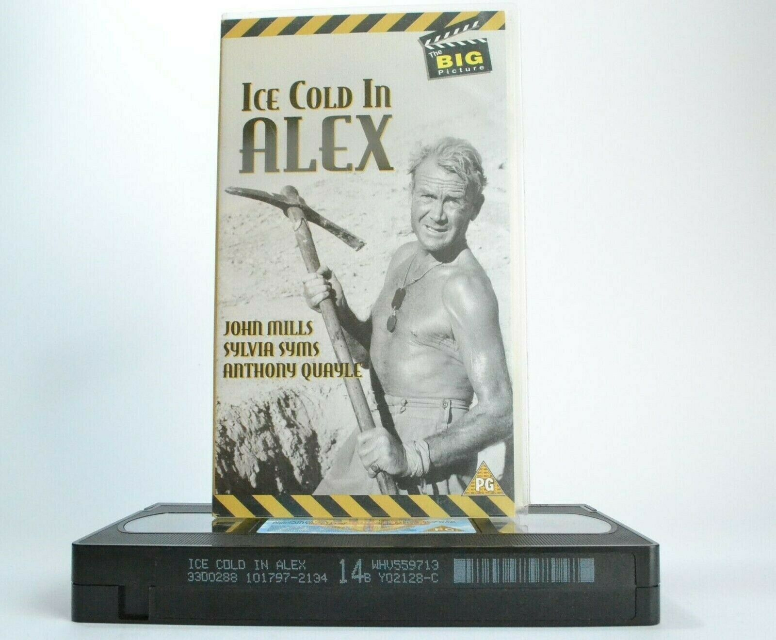 Ice Cold In Alex (1958): Alexandria British Lines - War Drama - John Mills - VHS