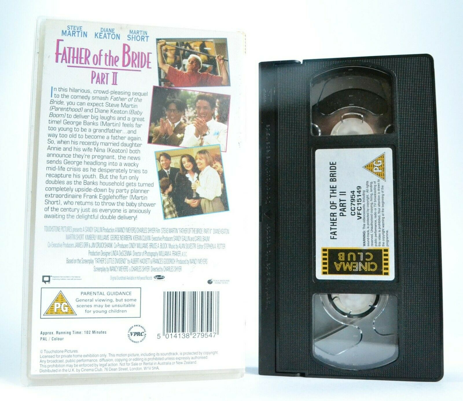 Comedy, Father, Keaton, Of, Pal, Part, Steve, The, VHS
