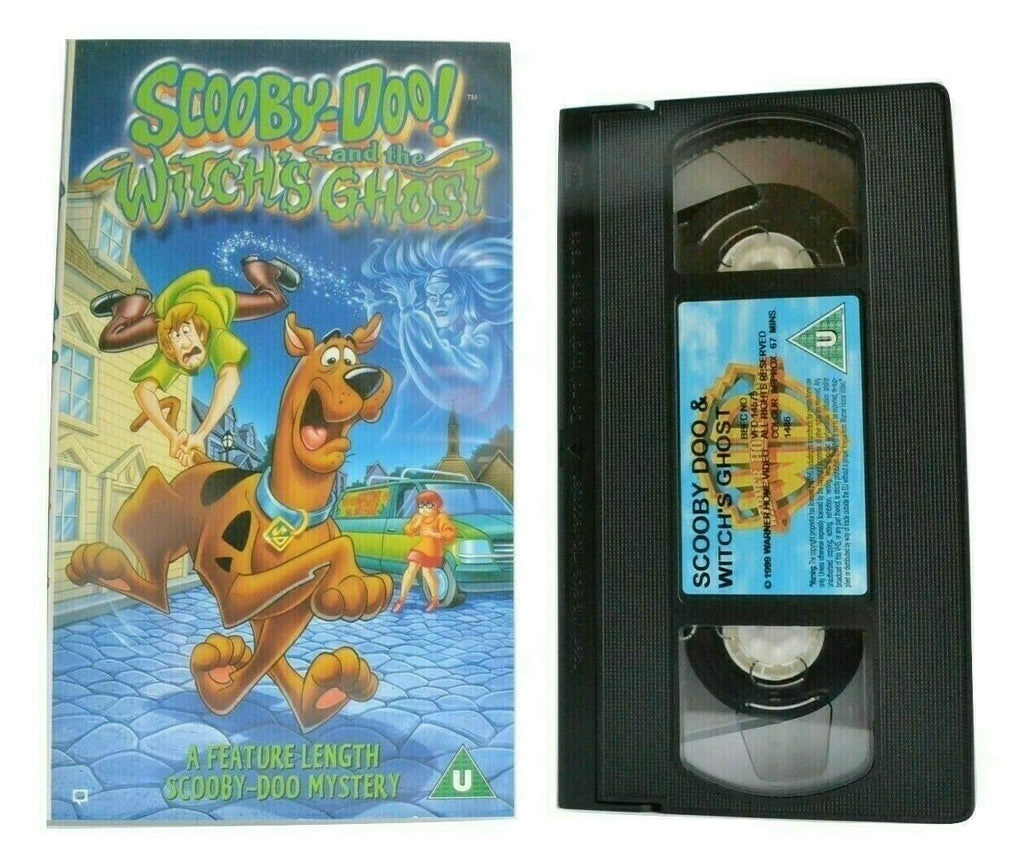 Scooby-Doo And The Witch's Ghost - Animated - Mystery Adventures - Kids - VHS