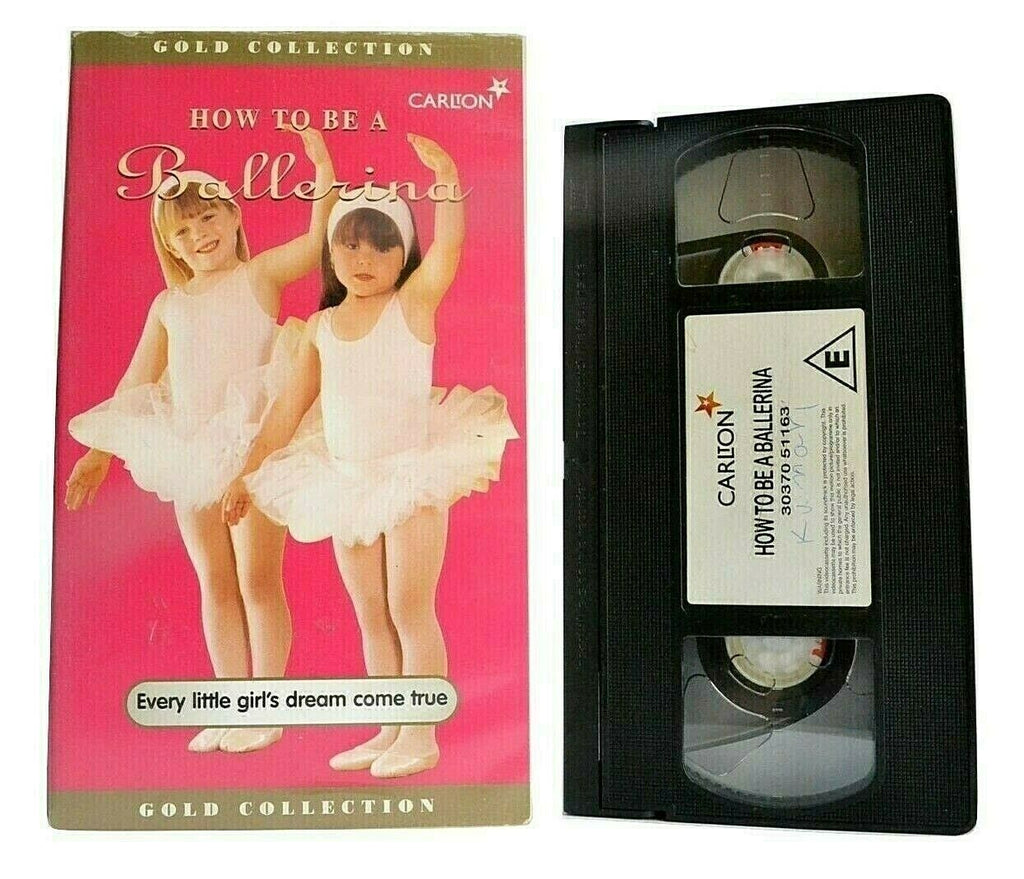 Ballerina, Ballet, Be, Bradnum, Classic, Dance, Debra, How, No, PAL, To, VHS