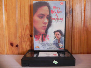 When He's Not A Stranger - Real Life Drama - Big Box - Prism 1990 - 0007 - VHS