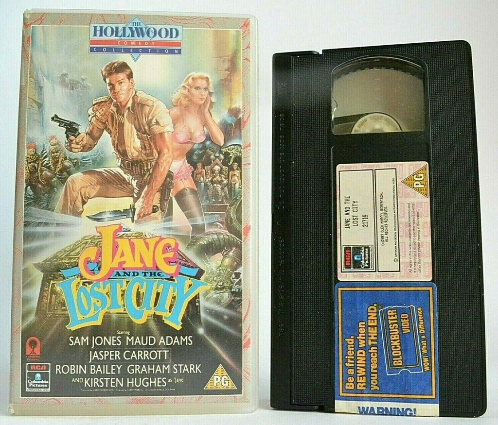 Jane And The Lost City (1987): African Adventure - World War 2 - [Rental] - VHS