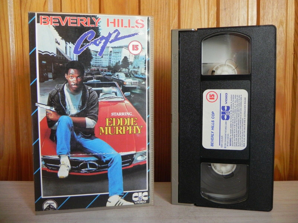 Beverly Hills Cop - CIC Video Pre-Cert - Comedy Action - Eddie Murphy - Pal VHS