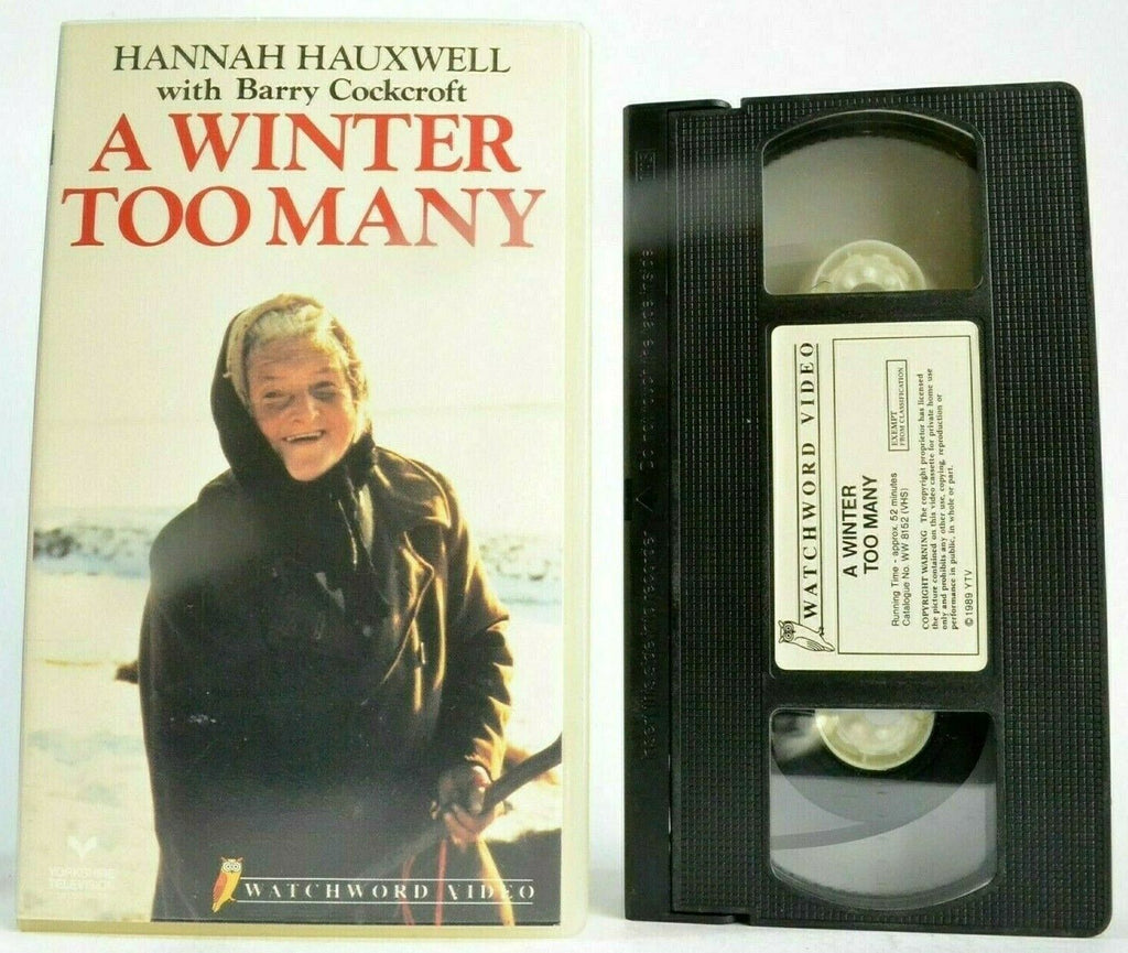 A Winter Too Many; [Hannah Hauxwell] Low Birk Hatt Farm - Barry Cockcroft - VHS