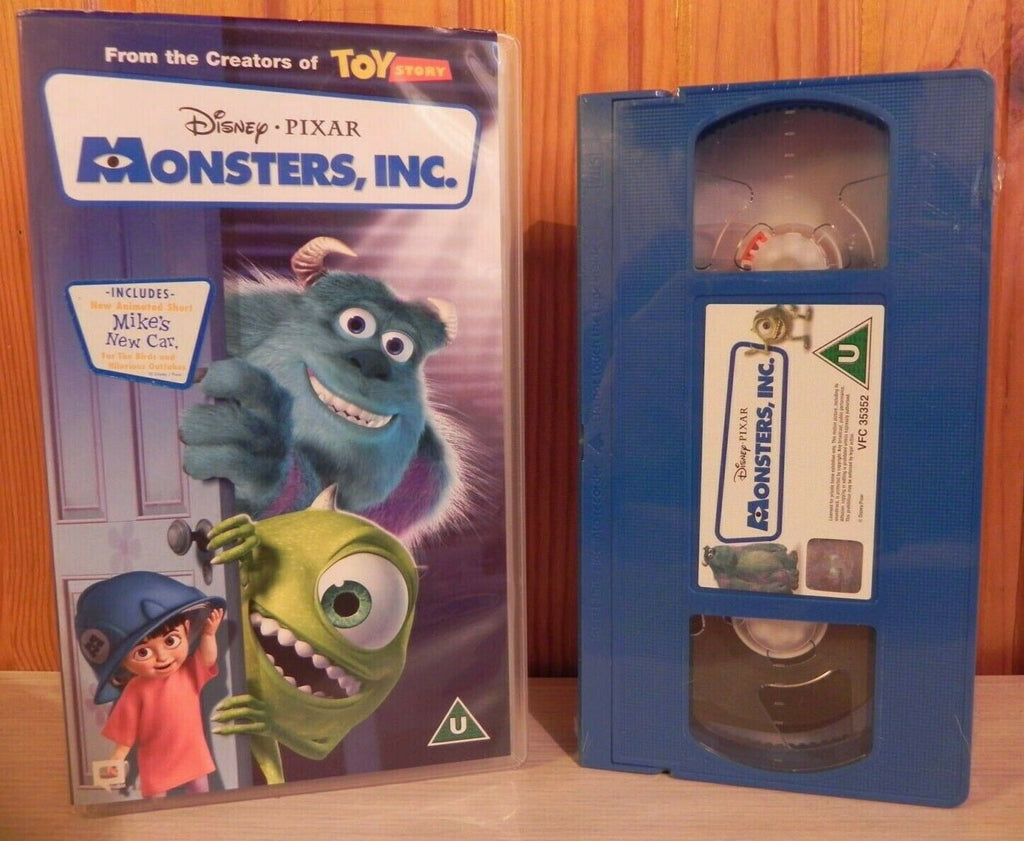 Monsters,Inc. (2001): Brand New Sealed - Disney/Pixar Video - Children's - VHS