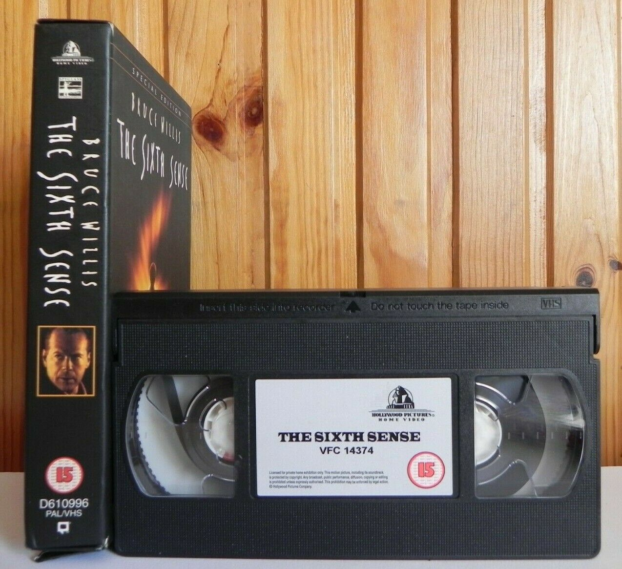 The Sixth Sense [Special Edition]: Mystery Thriller - Bruce Willis - Pal VHS