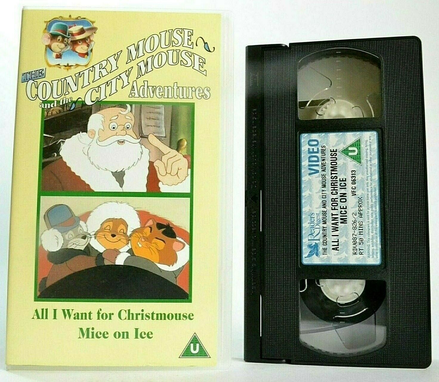 The Country Mouse And The City Mouse Adventures: Mice On Ice - Children's - VHS