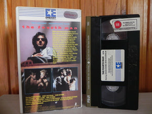 The Fourth Man - Jeroen Krabbe - Gay Int Pre-Cert - Psycho-Sexual Thriller - VHS
