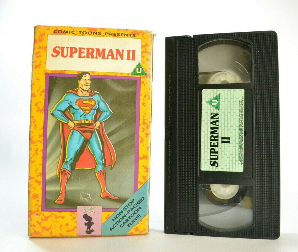 Superman 2: The Magnetic Telescope And Other Stories - Action Cartoon - Pal VHS