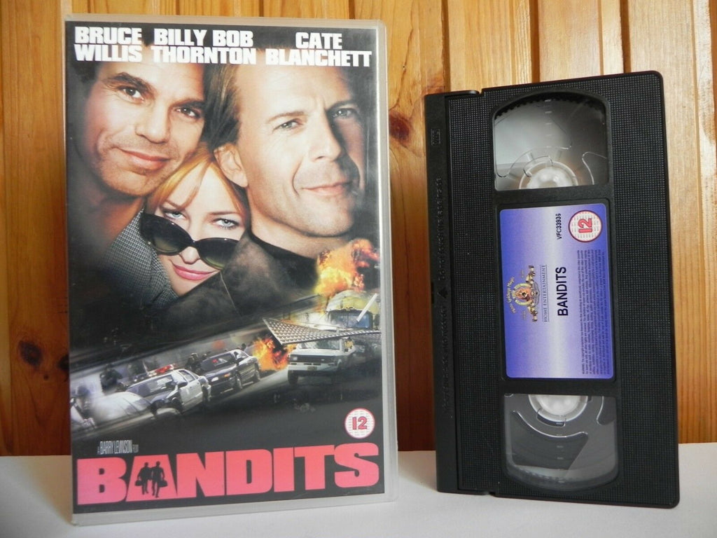 Bandits - Large Box - Metro Goldwyn - Action - Comedy - Ex-rental - Pal VHS
