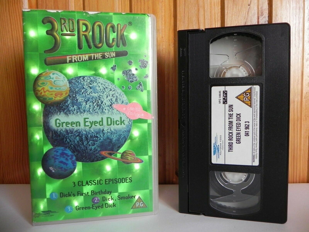 3rd Rock From The Sun - PolyGram Video - Tv Show - 3 Classic Episodes - Pal VHS