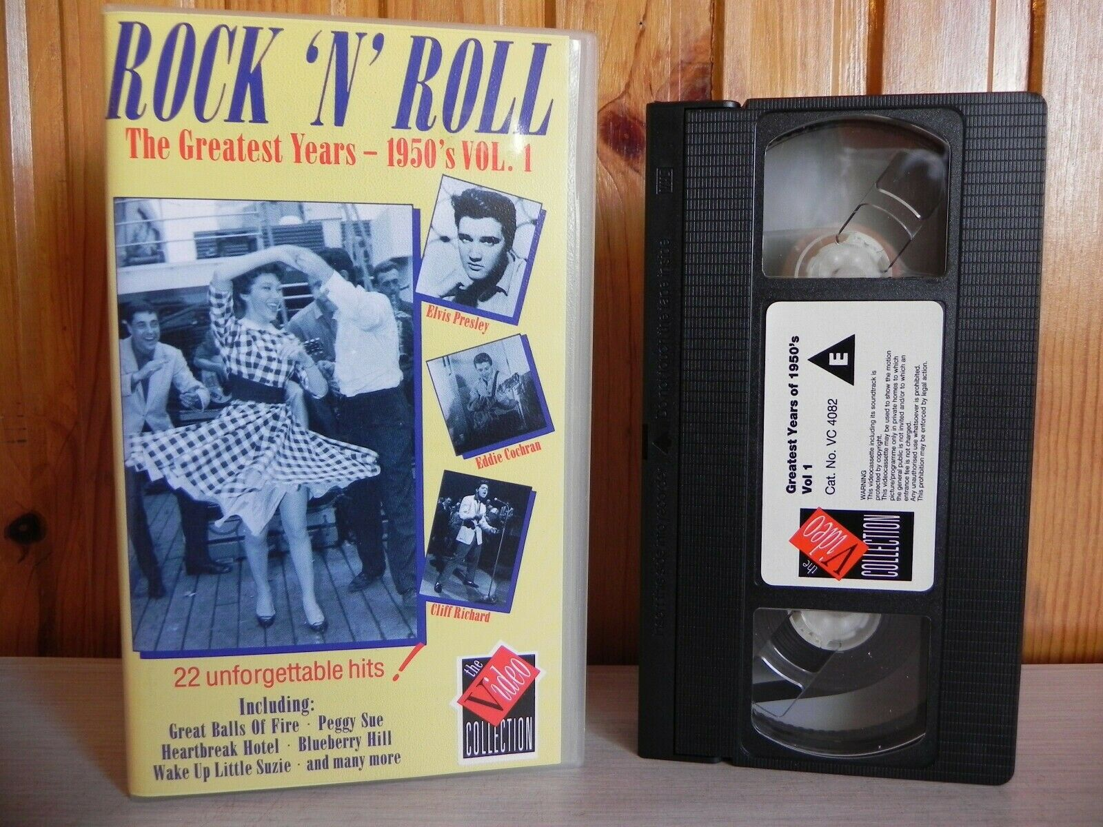 Rock 'N' Roll - The Greatest Years - 1950's Vol. 1 - 22 Unforgettable Hits - VHS