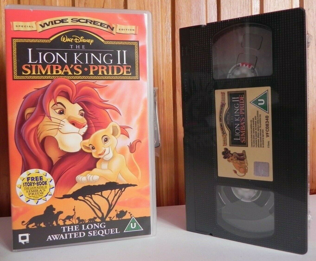 Lion King 2: Simba's Pride - Walt Disney - Brand New Sealed - Kids - Pal VHS