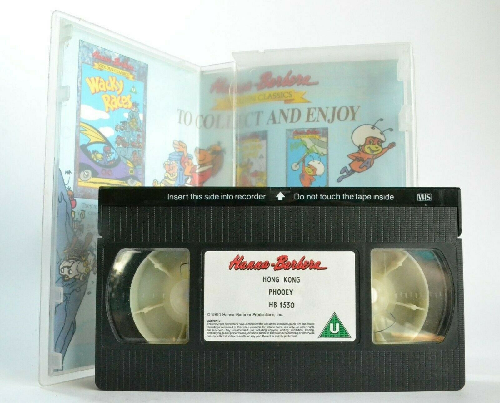 Hong Kong Phooey [Hanna-Barbera Golden Classics] - Animated - Children's - VHS