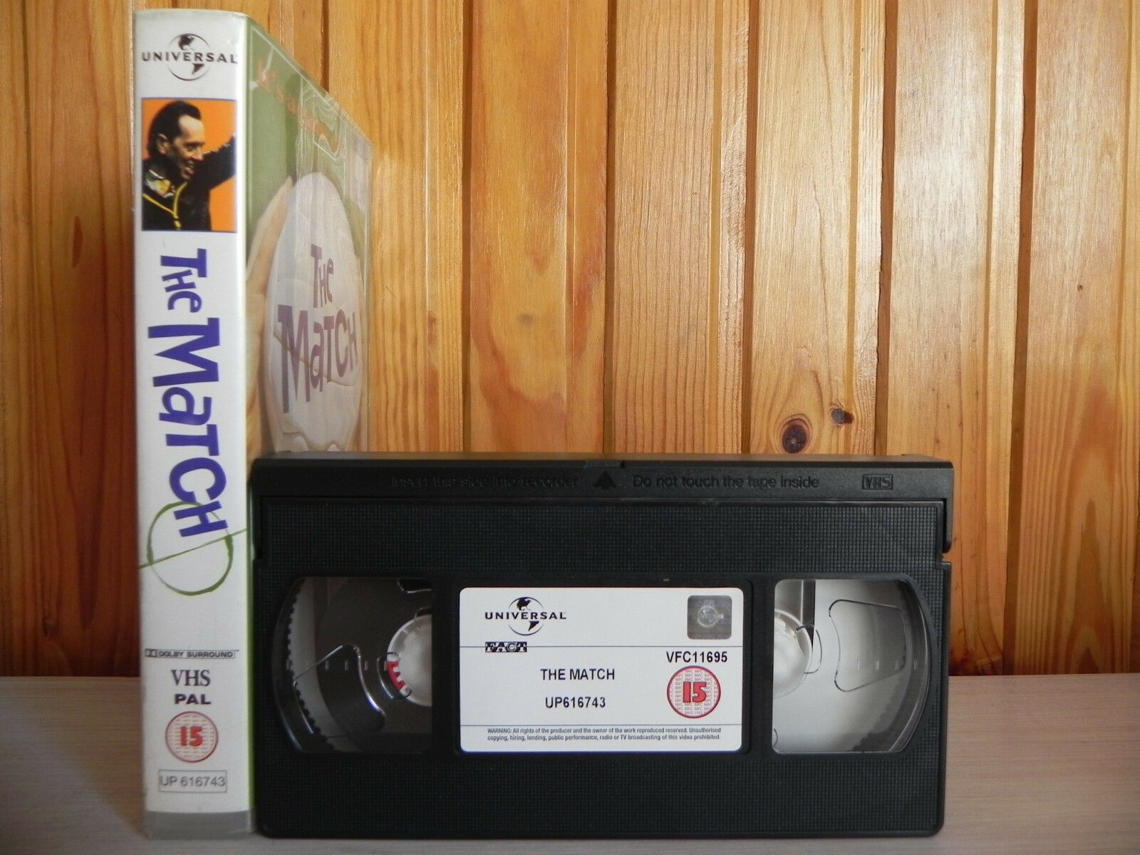 The Match - Big Box Rental - Rare Football - Romantic Comedy - Pal Video - VHS