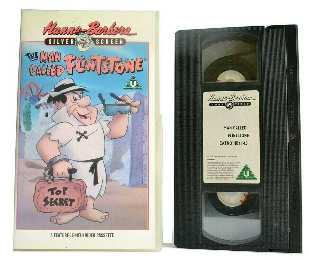 The Man Called Flintstone (1966): Animated Musical Comedy - Children's - Pal VH