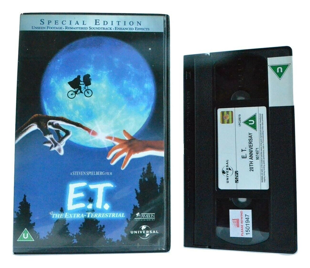 E.T.:The Extra-Terrestial - Adventure (1982) - 20th Anniversary Edition - VHS