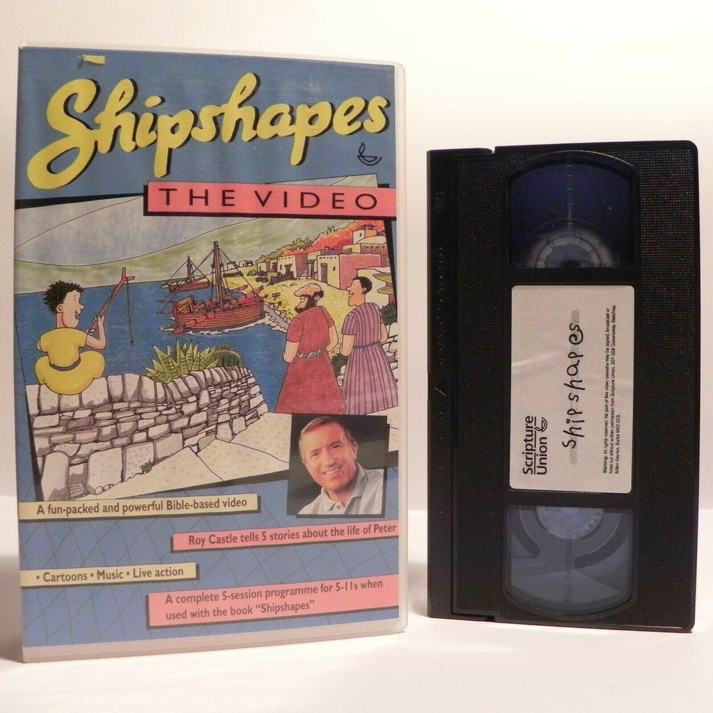 Shipshapes: The Video (Roy Castle) - Bible Based Stories - Children's - Pal VHS