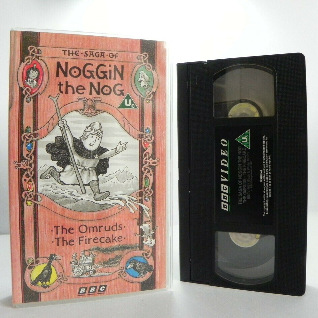 The Saga Of Noggin The Nog: The Omruds - The Firecake - Epic Animation - Pal VHS