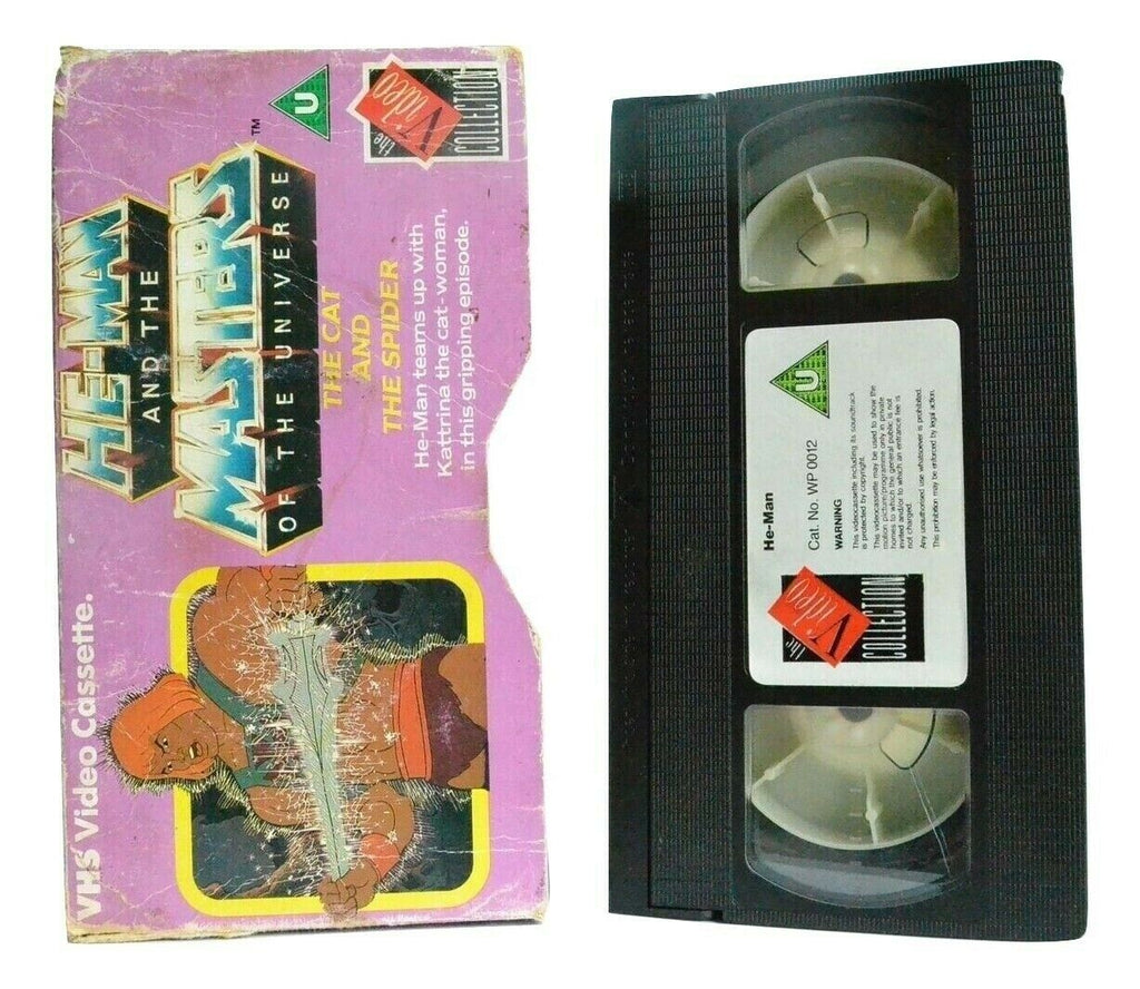 He-Man And The Masters Of The Universe: The Cat And The Spider - Kids - Pal VHS