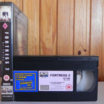 Fortress 2 - Big-Box Rental - Grim Looking SciFi - Christopher Lambert - Pal VHS
