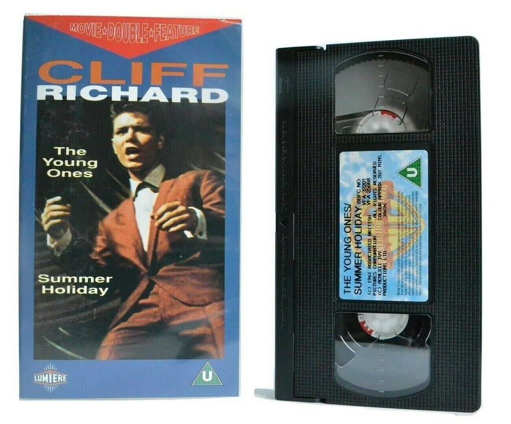 2x Cliff Richards: The Young Ones/Summer Holiday - British Musicals - Pal VHS