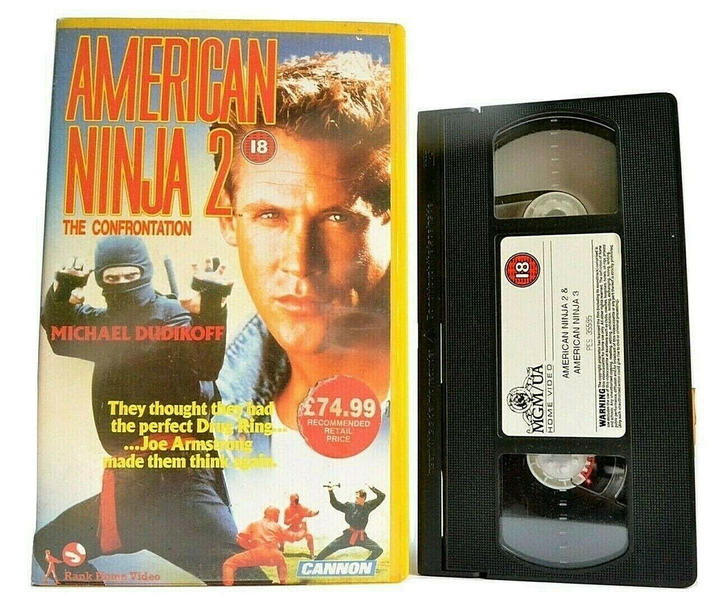American Ninja 2: The Confrontantion; [Cannon] Big Box - Action - Michael Dudikoff - Pal VHS