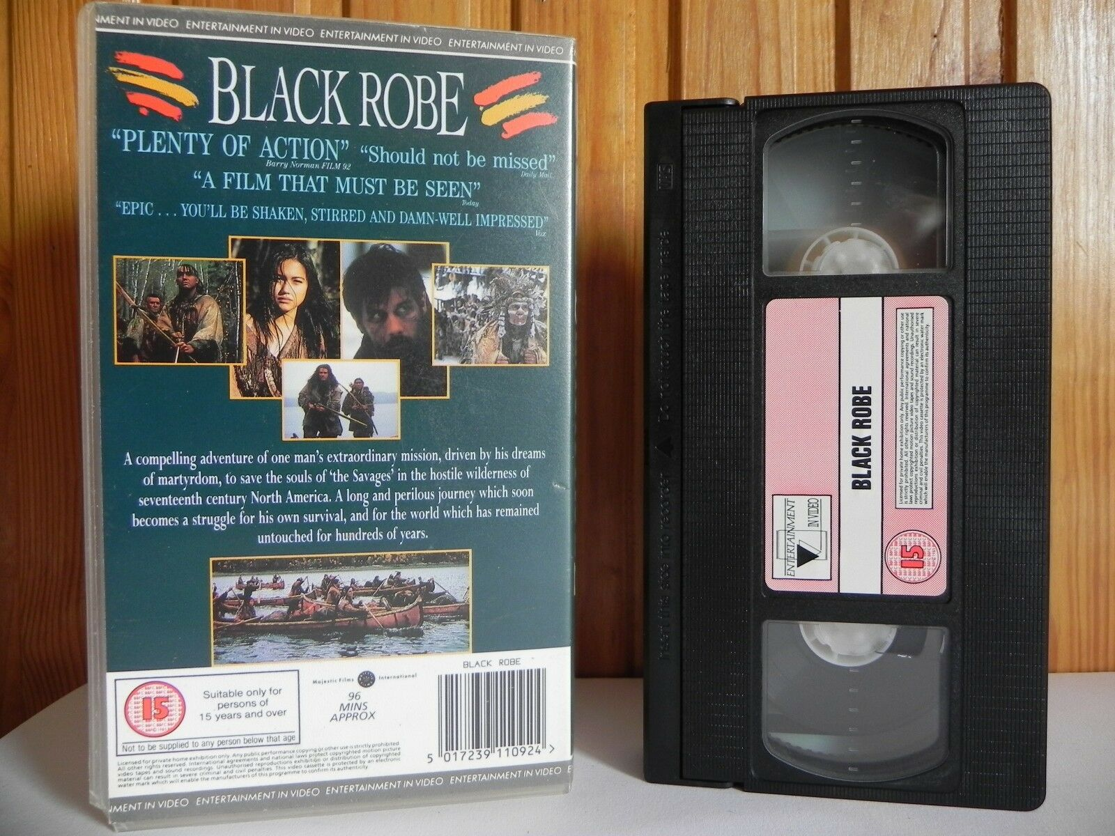 Action, Action & Adventure, Aden, Adventure, Black, Entertainment, In, PAL, Robe, VHS, Video, Young