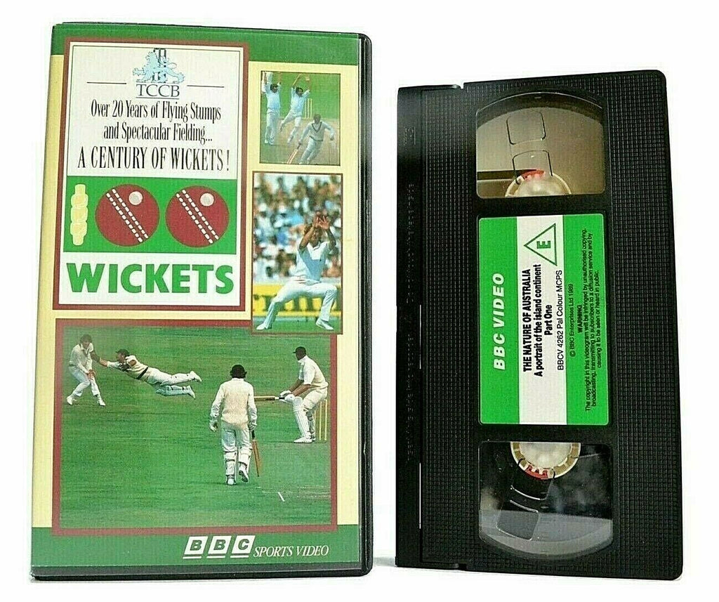 100 Wickets (BBC Video) - Cricket - (1971) Gillette Final - Ian Boon - Pal VHS