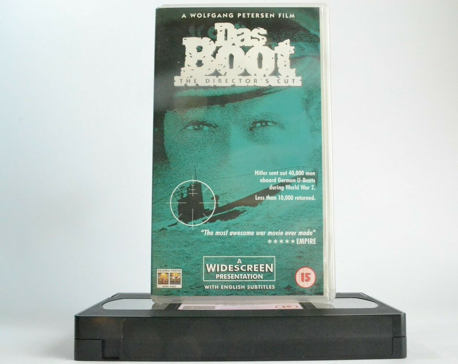 1981, Boot, Cut, Das, Director's Cut, Drama, Nightmare, Nightmares, Pal, Submarine, The, VHS