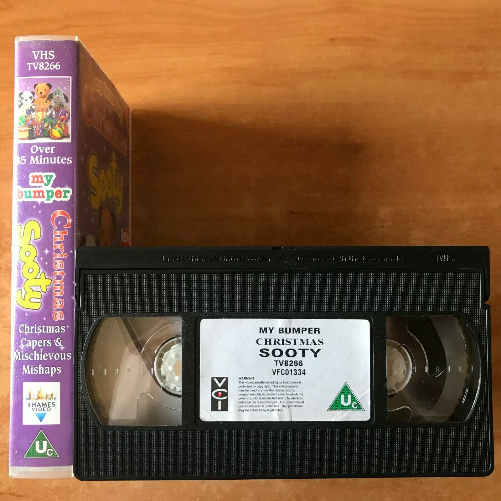 [My Bumper] Christmas With Sooty (Over 85mins]: Mischievous Mishaps - Kids - VHS